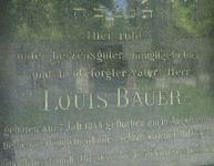 Westfriedhof IBK, Bauer Louis