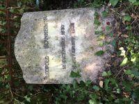 Grabstein für Leopold Bernheimer