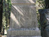 Grabstein für Jakob Brunner