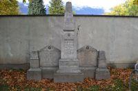 Westfriedhof IBK, Gedenktafel für die gefallenen des ersten Weltkrieges.
