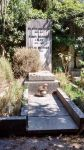 Grabstein für Filippo, Fanny und Oscar Brunner