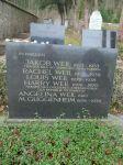 <b>Weil Jakob; Weil Rachel; Weil Louis; Weil Harry; Weil Angelina; M. Guggenheim </b>
