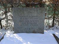 Grab von Ernst und Regina Loewy