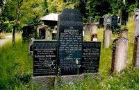 Grabstein von Karlmann Heilbronn und Anna Heilbronn (geb. Guggenheim)