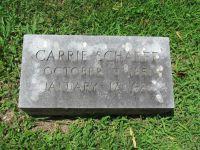Grabstein Carrie Bernheimer-Scharff