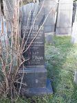 Grabstein für David und Dina Elkan