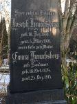 Grabstein für Emma und Joseph Henochsberg