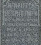 Grabmal für Henrietta Cahn-Bernheimer, Detail