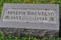 Grabstein Joseph Brentano