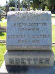 Grabstein von Joseph und Leonora Goetter