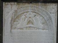Grabstein für Rabbiner Salomon Kohn