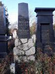 Grabstein für Simon, Flora und Josef Steinach
