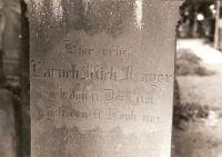Grabstein von Baruch Michael Mayer (1791-1882)
