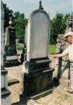 Grabstein für Max Zivi