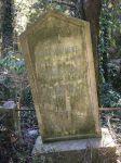 Grabstein für Guglielmo, Tranquilla und Giovanna Menz