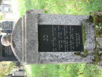 Grabstein von Eugen Moos