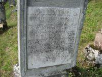 Grabstein von Fanny Fradel Rothschild, Detail