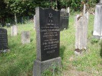 Grabstein für Louis Rothschild (1874-1927) und seine Mutter Jette Rothschild (1845-1928)