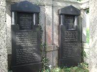 Grabmal von Ludwig Rothschild und Hanna (Hanchen), geb. Moos