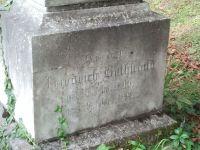 Grabstein von Veit Friedrich Rothschild, Detail