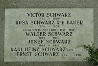 Westfriedhof IBK, Schwarz Viktor und Rosa