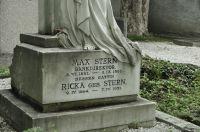 Westfriedhof IBK, Max und Ricka Stern