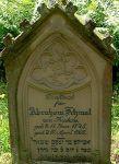 Grabstein für Abraham Schmal