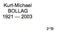 <b>Bollag Kurt-Michael</b>