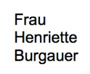 <b>Burgauer Henriette geb. Frei</b>