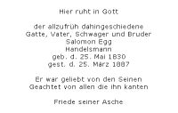 <b>Egg Salomon</b>