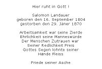 <b>Landauer Salamon</b> <br> <i>Rückseite</i>