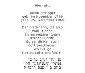 <b>Kitzinger Jakob</b>