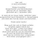 <b>Rosenthal Philipp</b> <br> <i>Vorderseite</i> <br>