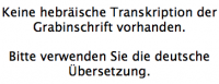 <b>Schlesinger Hermann</b> <br> <i>Vorderseite</i> <br>