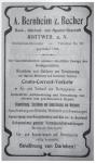 Anzeige Bankhaus Bernheim, 1909