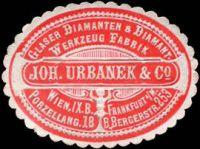 Anzeige Joh. Urbanek & Co.
