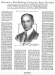 Artikel von Moritz Julius Bonn The New York Times, 6.8.1916, Seite 1