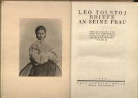 Leo Tolstoj: Briefe an sein Frau
