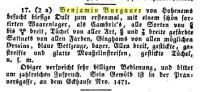 Geschäftanzeige Benjamin Burgauer