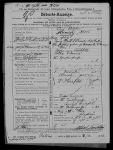 Geburtsanzeige von Heinrich Krott