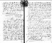 Heiratseintrag Julius Clermont und Marie Wolf