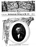 Salomon Sulzer Artikel in der Zeitschrift 'Der Israelit' vom 19. Dezember 1901