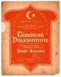Josef Sulzer: Türkische Volkshymne