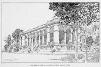 New York Seward Park Pavillon