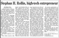 Obituary for Stephan Rollin