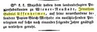 Österreichischer Beobachter, 1819