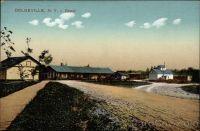 Postkarte 'Dolgeville, NY - Depot'