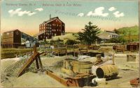 Postkarte 'Salisbury Center, NY - Salisbury Steel and Iron Works', 1910