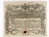 Gesellenbrief von Salomon Landauer