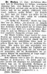 Einweihung der Synagoge St. Gallen, Bericht in der Zeitschrift 'Der Israelit', 5. Oktober 1881)